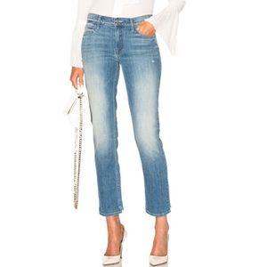 MOTHER Denim The Rascal Slit Step Jeans